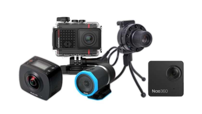 2016年に登場した様々なカメラ。