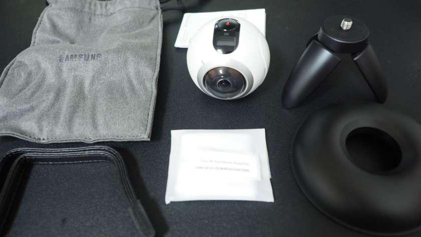 Galaxy360 の同梱品。