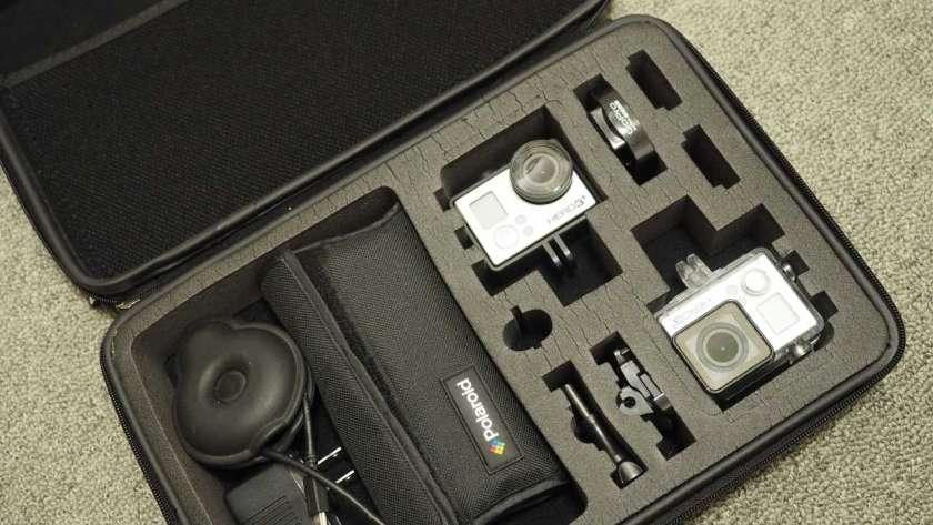 GoPro 専用ケースの写真。