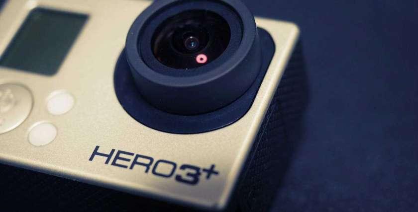 GoPro HERO3+ のイメージ。