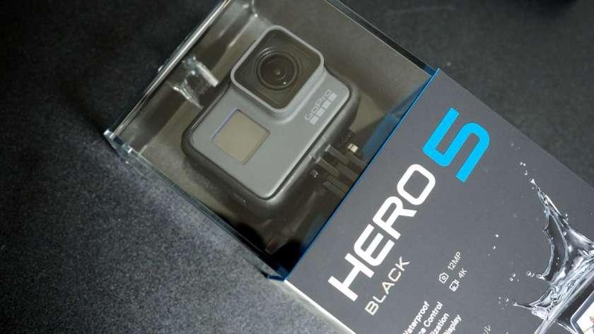 GoPro HERO5 のイメージ。