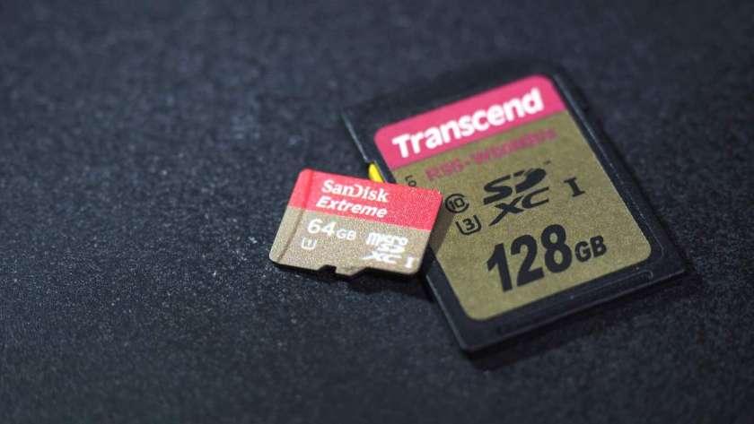 SDカードのイメージ。