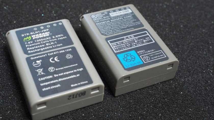 WASABIバッテリーのイメージ。